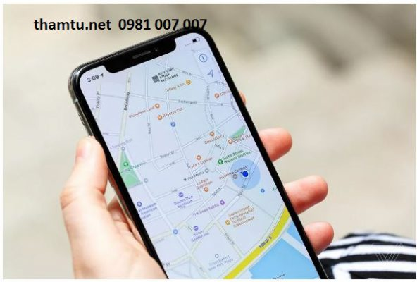 dịch vụ định vị số điện thoại
